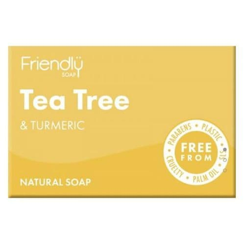 Friendly Soap Tea Tree & Turmeric